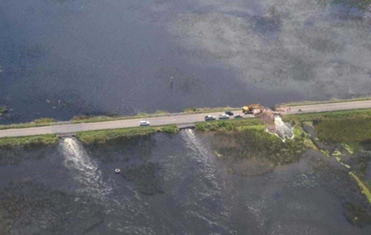 El Defensor del Pueblo intimó a los gobernadores de La Pampa, Santa Fé y Córdoba para que no tiren agua hacia Buenos Aires
