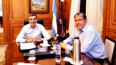"""El """"Chino"""" Navarro confirmó que Randazzo será candidato a Senador con el apoyo del Movimiento Evita"""