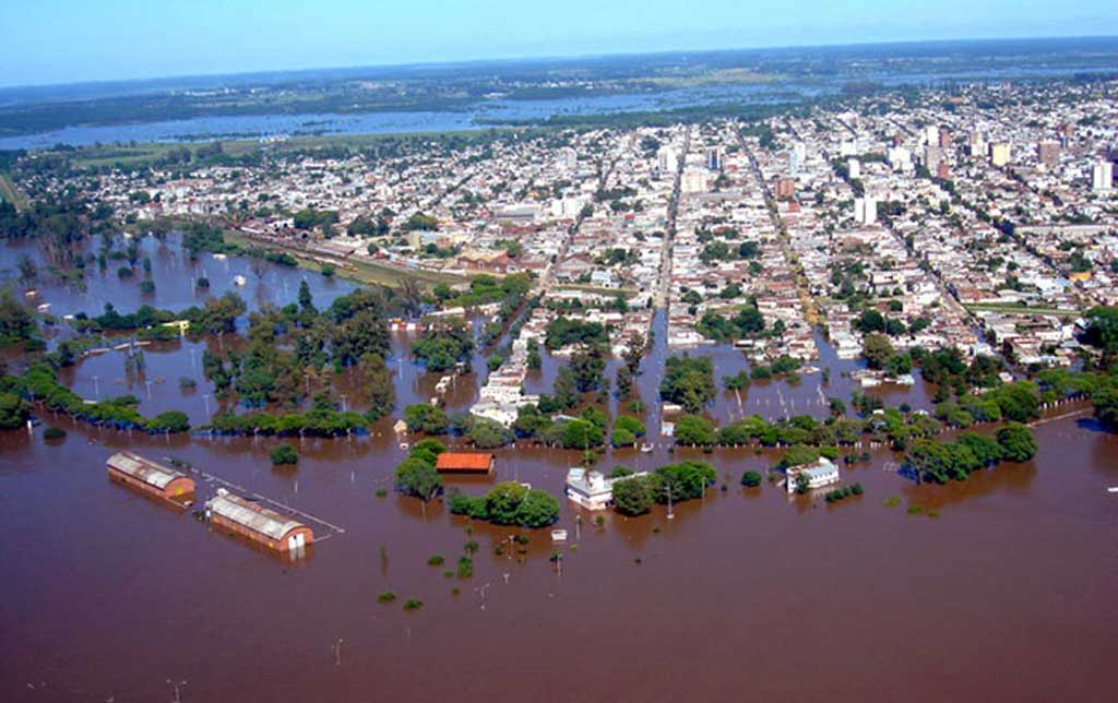 """Piden declarar a Salto como """"zona de desastre"""" por las inundaciones"""