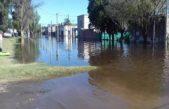 Histórica inundación en Salto con más de 500 evacuados