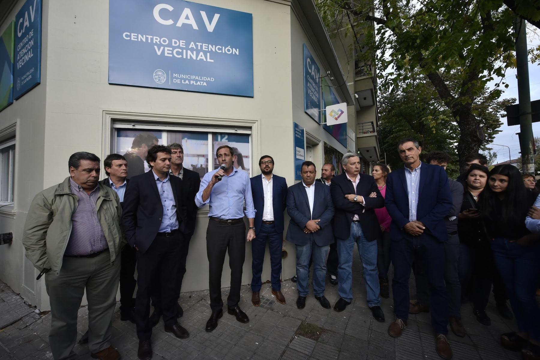La Plata / Garro inauguró un nuevo centro de atención vecinal en 19 y 45