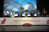 Vidal pasó por la Convención Nacional de la UCR e hizo un llamado a la unidad