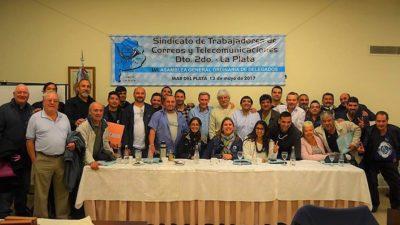 Con un mensaje de unidad Omar Sans inauguró la Asamblea anual de Delegados Telepostales en Mar del Plata