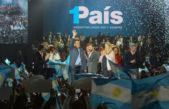 """Massa y Stolbizer lanzaron """"Un País"""" en un micro-estadio repleto"""