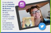 Provincia lanzó la campaña #CompartíTuLibro para alumnos secundarios, una selfie en el aula y un libro para recomendar