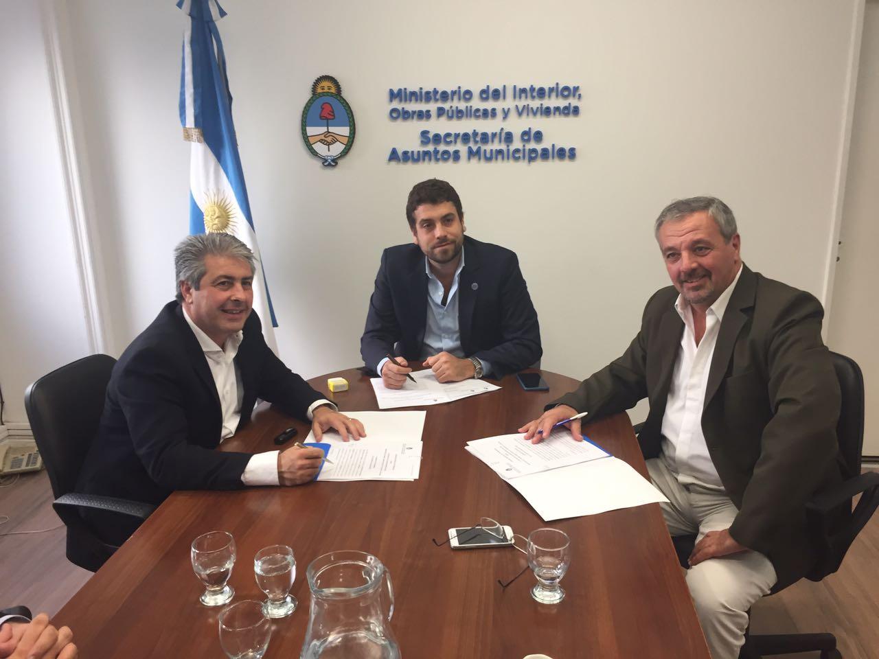 Rojas / Rossi realizó gestiones en Capital y La Plata