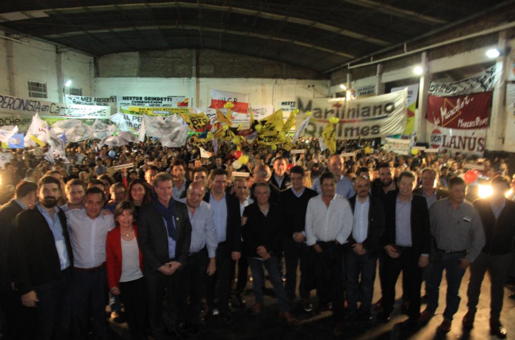 Alejandro Finocchiaro - Presentación Mesa de Cambiemos en la tercera sección electoral 1