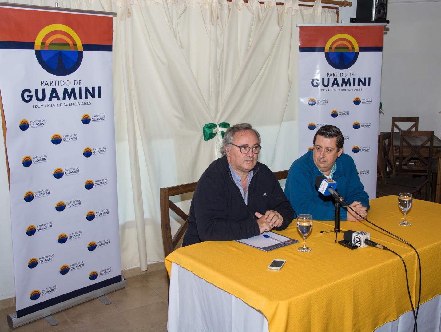 Guaminí / De la Torre juntó a los intendentes peronistas de la sexta sección