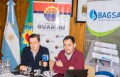 Guaminí / El intendente y el vicepresidente de BAGSA anunciaron importantes avances en el gasoducto
