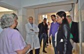 Vicente López/ Galmarini y Ferraro visitaron el olvidado Hospital Cetrángolo