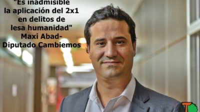 """Abad en sintonía con Vidal: """"Es inadmisible la aplicación del 2×1 en delitos de lesa humanidad"""""""