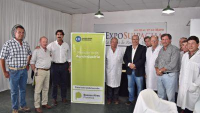 """Sarquis en la muestra agroindustrial """"Hay grandes desafíos por delante"""""""