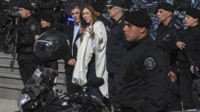Vidal y Ritondo hacen eje en la seguridad y lanzan más patrullaje a las calles