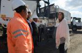 María Eugenia Vidal inauguró obras viales en Ramallo