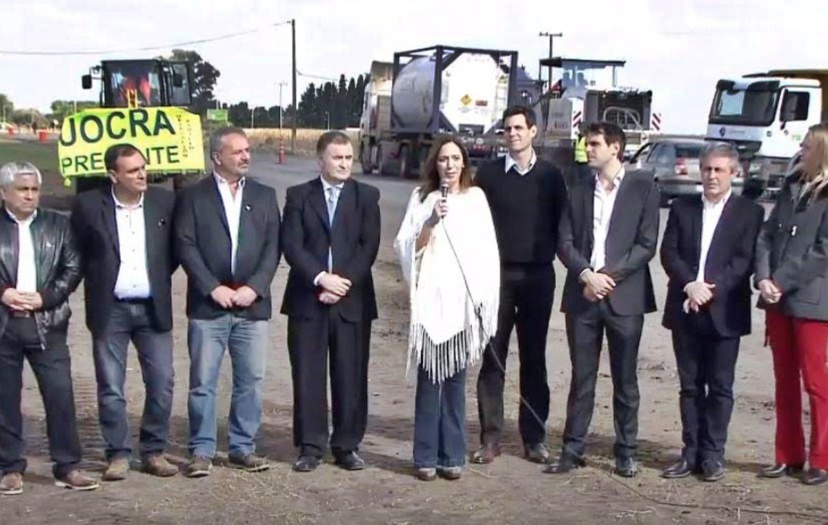 Vidal anunció un mega plan de obras viales para repavimentar 900 kilómetros de rutas provinciales