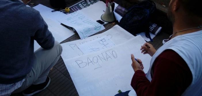 Trabajadores de Radio Provincia marcharon a Gobernación