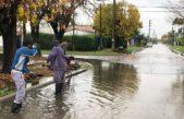 Berisso / el Municipio palió los efectos del temporal mientras avanzan las obras hidráulicas