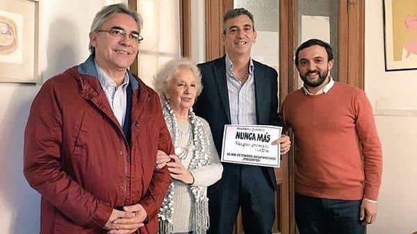 El Movimiento Evita llevó a Randazzo a una reunión con Carlotto