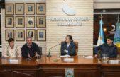 T. Lauquen / Albisu, Fernández y Sotullo analizaron la situación hídrica del distrito en el Concejo Deliberante
