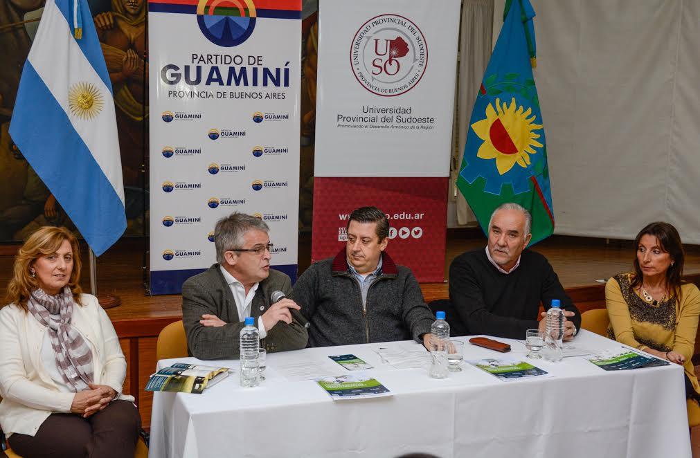 Guaminí será sede de la Universidad Provincial del Sudoeste