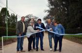 Gral Rodríguez / Kubar inauguró nuevas calles de asfalto para el distrito