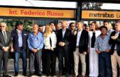 """Metrobús La Matanza: """"Las obras son sinónimo de futuro y ya no de corrupción"""", dijo Macri al lado de Magario"""