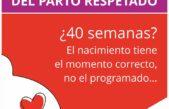 San Nicolás /  El municipio lanza una campaña para concientizar sobre el Parto respetado en la semana mundial