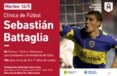 Morón / Sebastián Battaglia, el máximo ganador de la historia de Boca presentará una capacitación deportiva