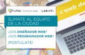 """El Municipio busca diseñadores gráficos web y programadores para """"Laboratorio de innovación"""""""
