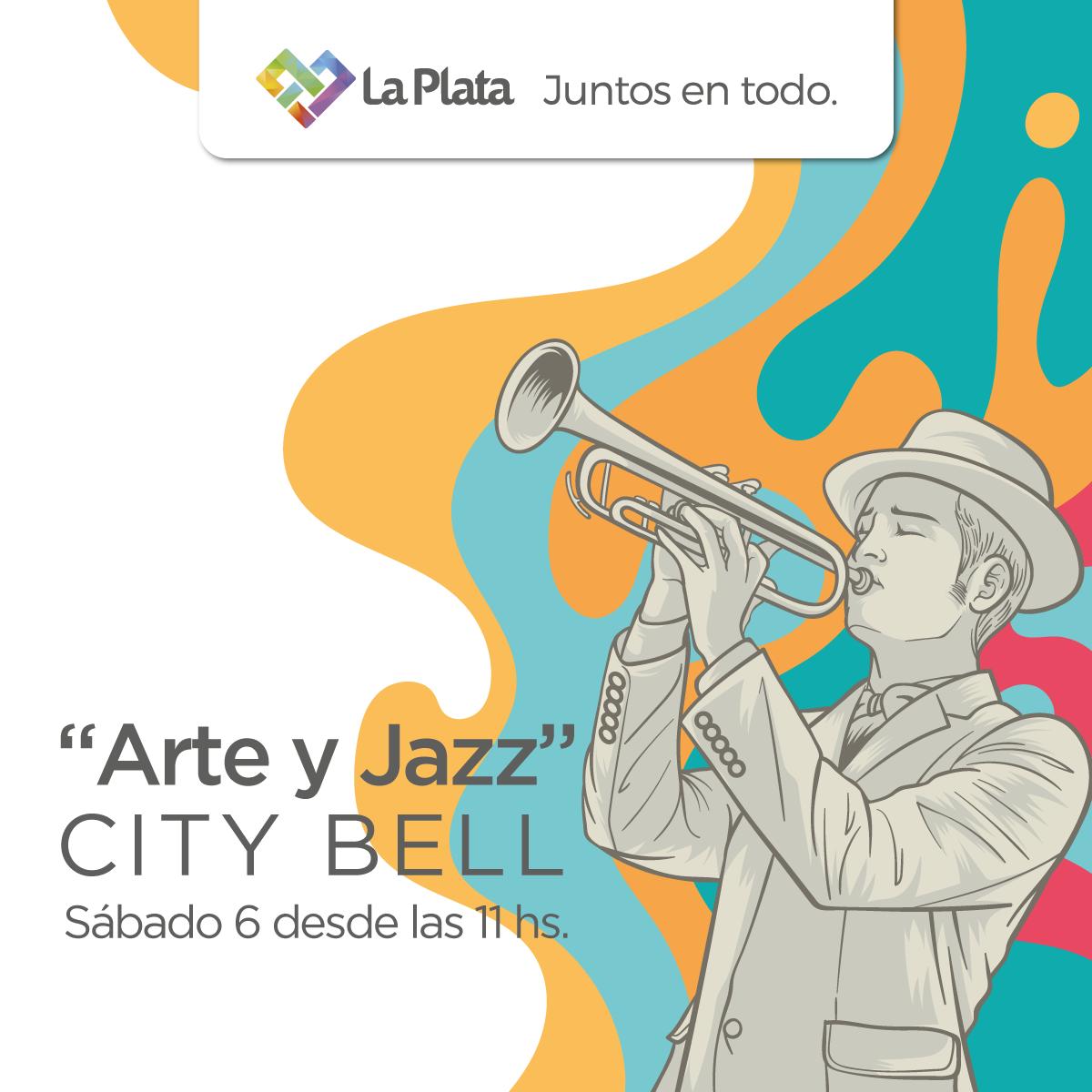 """Se viene """"Arte y Jazz"""" con la presencia de 100 artistas en City Bell"""