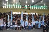 Berisso / Más de 600 alumnos prometieron lealtad a la bandera nacional