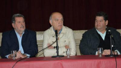 Nedela, Grindetti y Molina compartieron jornada de debate de políticas públicas con el ministro de Ciencia, Elustondo