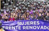 """Referentes del espacio """"1 País"""", presentes en la Marcha Ni Una Menos"""
