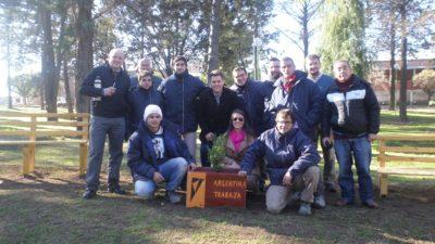 Cnel Rosales / Uset revaloriza el programa Argentina Trabaja