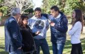 """Massa con Arroyo visitó un centro de discapacitados """"el gobierno no tiene corazón"""""""