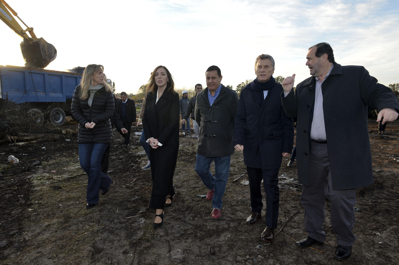 Galdys González se perfila como candidata y se mostró con Macri y Vidal  San Vicente