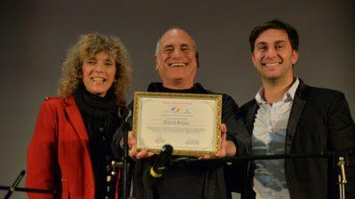 La Súper Estrella Israelí, David Broza fue denominado Embajador de Paz por la Red Voz por la Paz