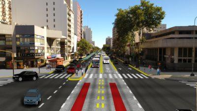 Vidal presentó el Metrobús en mar del Plata que se comenzará a construir este año
