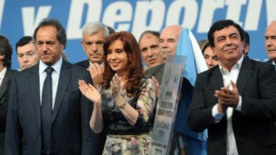 Espinoza niega proscripciones e insiste con la lista única para enfrentar a Macri