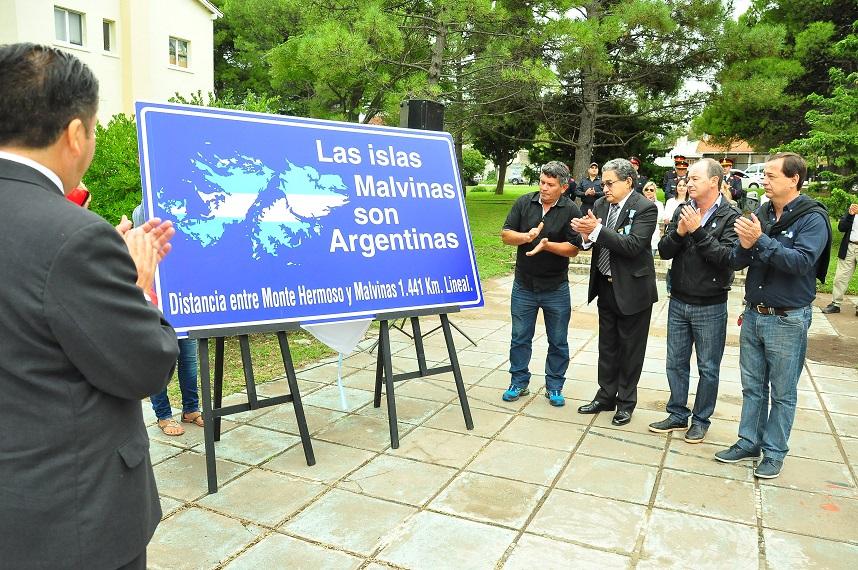 Monte Hermoso / Colocarán un indicador de distancia a Malvinas en reclamo de soberanía