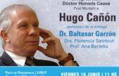 Hugo Cañon será distinguido con el Doctorado Honoris Causa Post Mortem en la UNLP