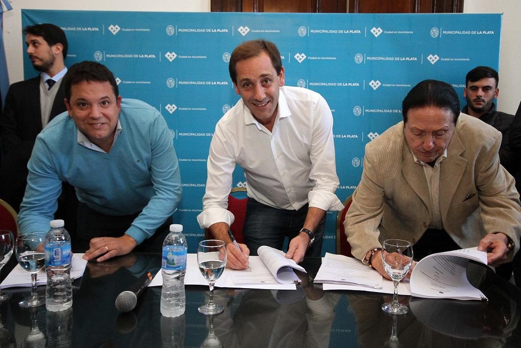 La Plata / Los empleados municipales ya tienen su Convenio Colectivo de Trabajo