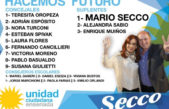 Ensenada / Mario Secco se puso de primer concejal suplente para figurar en la boleta