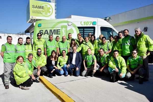 Provincia envió un equipo de médicos emergentólogos a Mendoza