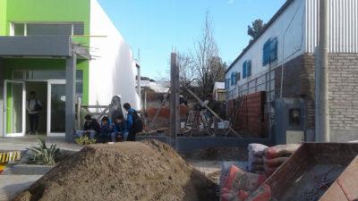Monte Hermoso / Apuestan a la educación y construyen un SUM de formación profesional