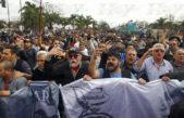 Trabajadores de Astillero Río Santiago marcharon en reclamo de inversiones
