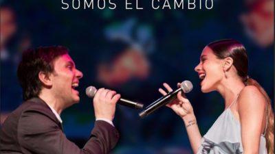 """TINI Stoessel y ODINO Faccia presentan el nuevo Himno por la Paz """"Somos el Cambio"""""""