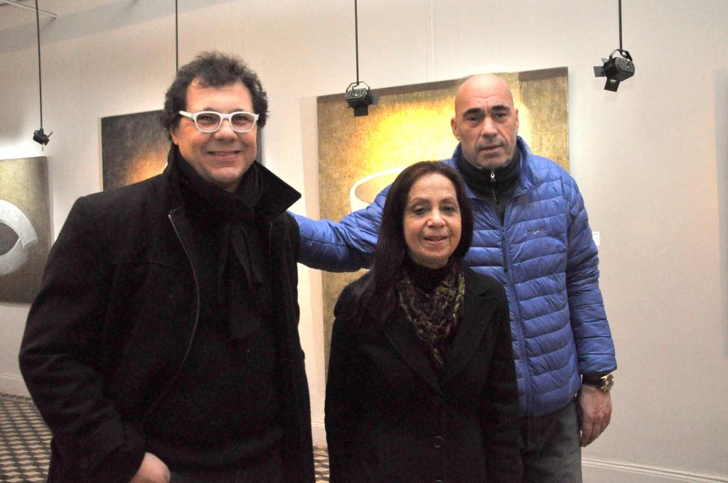 """Caputo y Álvarez expusieron """"El lado de la piel"""" en el Museo Pompeo Boggio de Chivilcoy"""