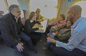 """Volvió el Tren a Mar del Plata y Vidal le tiró un dardito a Randazzo """"es un tren que no hace ruido y es seguro"""""""