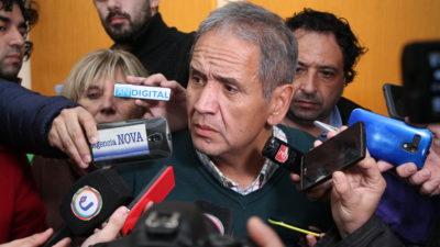 """Sergio Palazzo en La Plata: """"El gobierno tiene una aversión contra los trabajadores"""""""